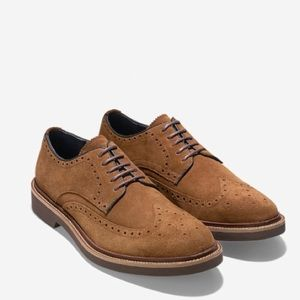 Cole Haan Wing Tip Oxfords Nubuck
